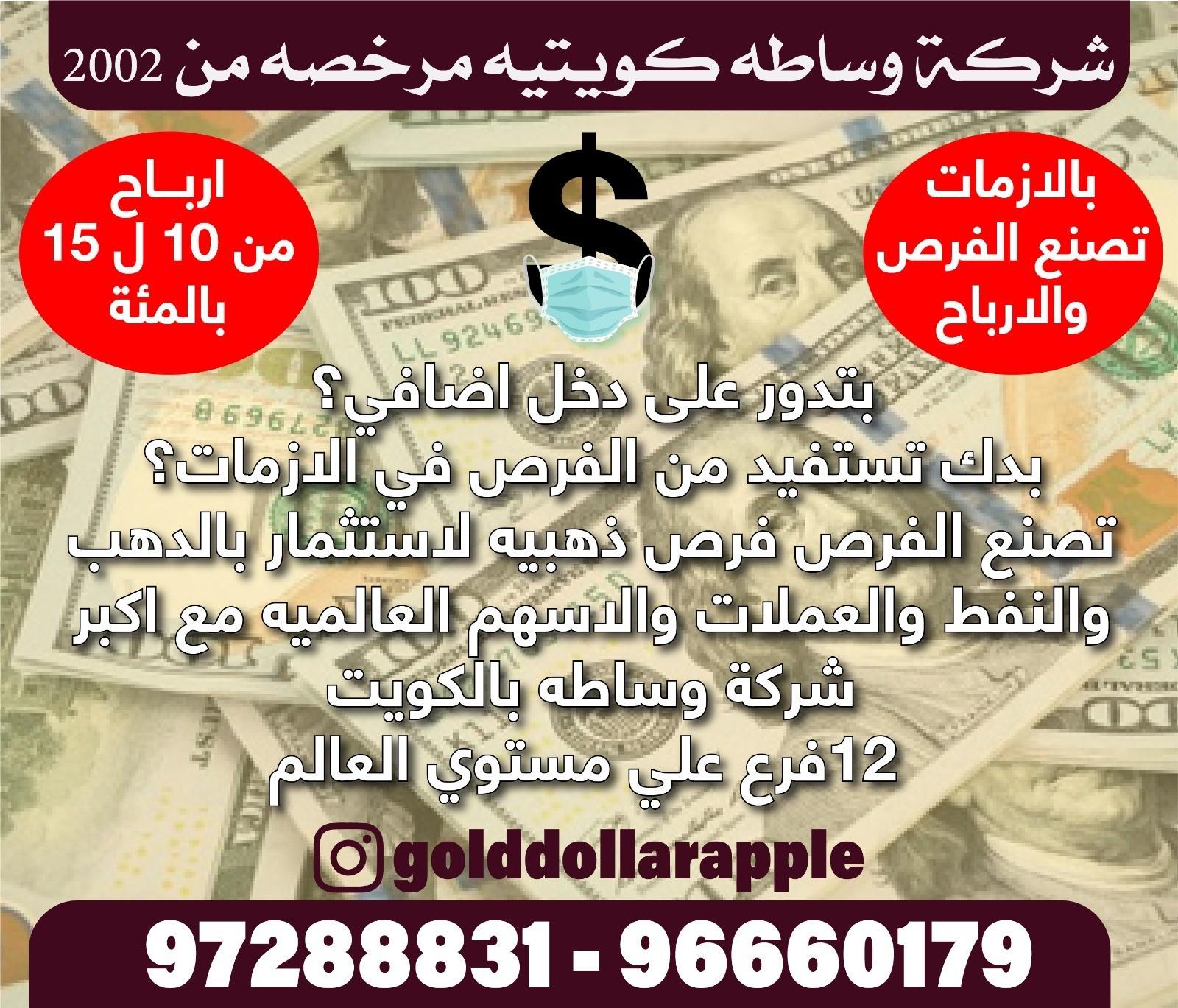 شركة وساطة كويتية مرخصة من 2020