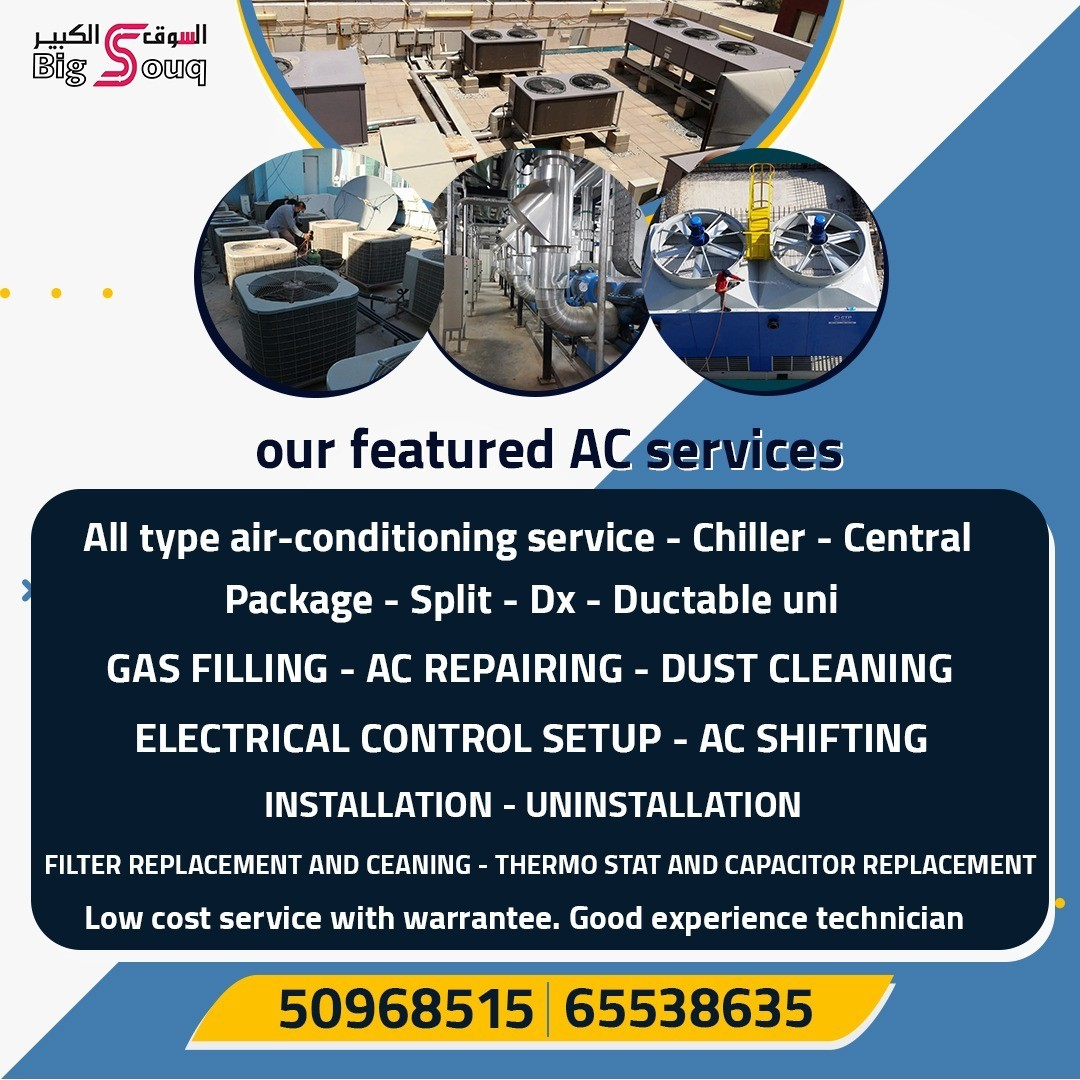our featured AC services